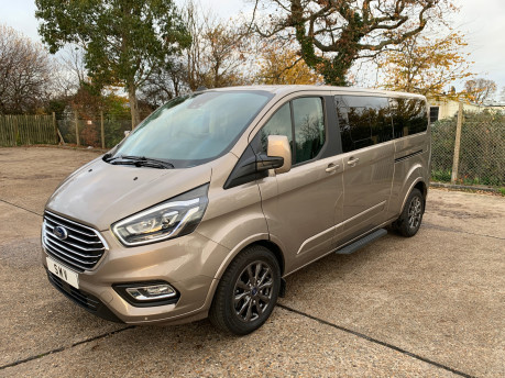 Ford Tourneo Custom NEW & UNREGISTERED TITANIUM X ECOBLUE WHEELCHAIR ACCESSIBLE VEHICLE WAV 1