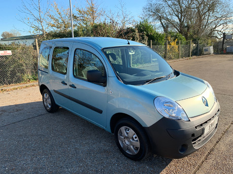 Renault Kangoo 2011 (11) EXTREME 16V wheelchair & scooter accessible vehicle WAV