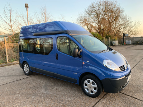 Renault Trafic 2014 LH29 DCI H/R wheelchair accessible vehicle WAV 31