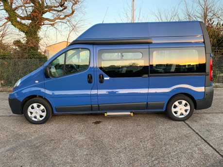 Renault Trafic 2014 LH29 DCI H/R wheelchair accessible vehicle WAV 2
