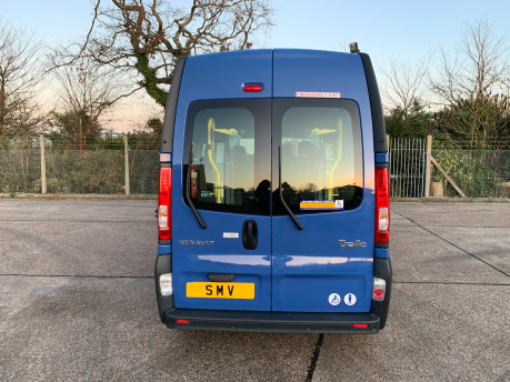 Renault Trafic 2014 LH29 DCI H/R wheelchair accessible vehicle WAV 3