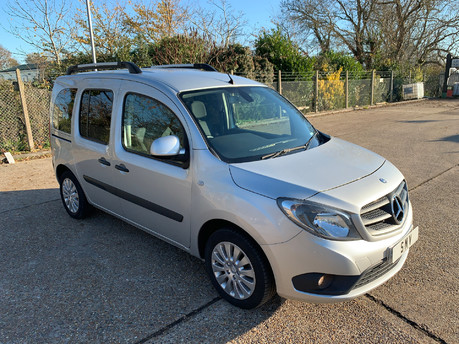 Mercedes-Benz Citan 2016 MERCEDES CITAN 112 TOURER WHEELCHAIR & SCOOTER ACCESSIBLE VEHICLE WAV