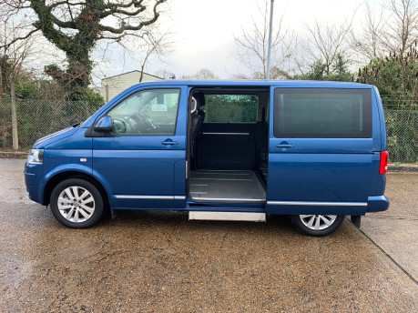 Volkswagen Caravelle 2015 EXECUTIVE TDI BLUEMOTION TECH wheelchair & scooter accessible WAV 5