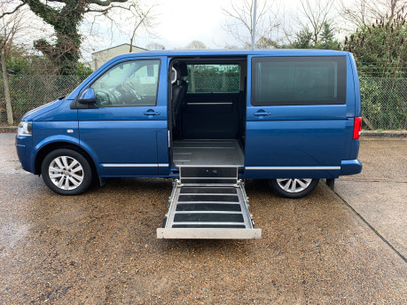 Volkswagen Caravelle 2015 EXECUTIVE TDI BLUEMOTION TECH wheelchair & scooter accessible WAV 6