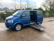 Volkswagen Caravelle 2015 EXECUTIVE TDI BLUEMOTION TECH wheelchair & scooter accessible WAV 7