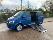 Volkswagen Caravelle 2015 EXECUTIVE TDI BLUEMOTION TECH wheelchair & scooter accessible WAV 8