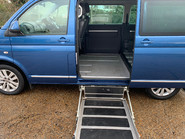 Volkswagen Caravelle 2015 EXECUTIVE TDI BLUEMOTION TECH wheelchair & scooter accessible WAV 10