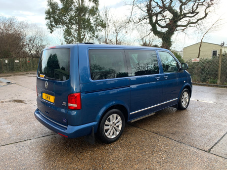 Volkswagen Caravelle 2015 EXECUTIVE TDI BLUEMOTION TECH wheelchair & scooter accessible WAV 22