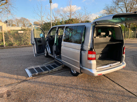 Volkswagen Caravelle 2010 EXECUTIVE TDI wheelchair & scooter accessible vehicle WAV 36