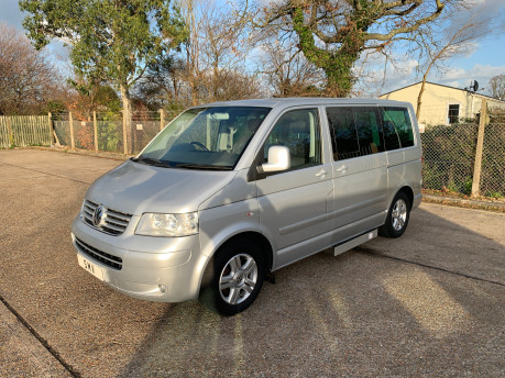 Volkswagen Caravelle 2010 EXECUTIVE TDI wheelchair & scooter accessible vehicle WAV 1
