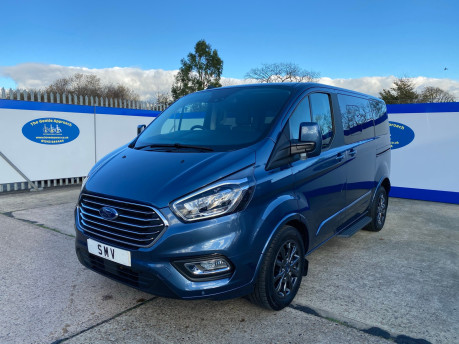 Ford Tourneo Custom 2020 TITANIUM X 185ps auto wheelchair and scooter accessible vehicle WAV 3
