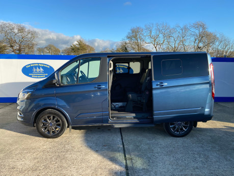 Ford Tourneo Custom 2020 TITANIUM X 185ps auto wheelchair and scooter accessible vehicle WAV 32