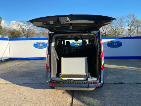 Ford Tourneo Custom 2020 TITANIUM X 185ps auto wheelchair and scooter accessible vehicle WAV 7