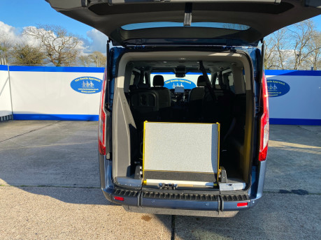 Ford Tourneo Custom 2020 TITANIUM X 185ps auto wheelchair and scooter accessible vehicle WAV 8