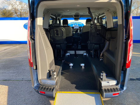 Ford Tourneo Custom 2020 TITANIUM X 185ps auto wheelchair and scooter accessible vehicle WAV 12