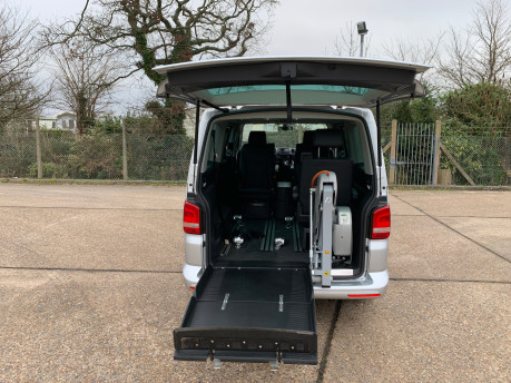 Volkswagen Caravelle 2013 EXECUTIVE TDI BLUEMOTION TECHNOLOGY wheelchair accessible vehicle WAV 7