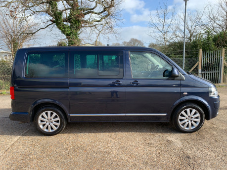 Volkswagen Caravelle 2011 EXECUTIVE TDI wheelchair accessible vehicle WAV 35