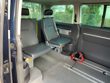 Volkswagen Caravelle 2011 EXECUTIVE TDI wheelchair accessible vehicle WAV 8