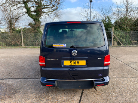 Volkswagen Caravelle 2011 EXECUTIVE TDI wheelchair accessible vehicle WAV 5