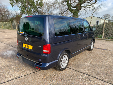 Volkswagen Caravelle 2011 EXECUTIVE TDI wheelchair accessible vehicle WAV 37