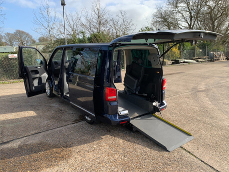 Volkswagen Caravelle 2011 EXECUTIVE TDI wheelchair accessible vehicle WAV 4