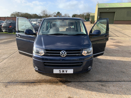 Volkswagen Caravelle 2011 EXECUTIVE TDI wheelchair accessible vehicle WAV 38