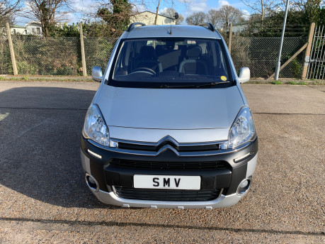 Citroen Berlingo Multispace 2013 HDI XTR wheelchair and scooter accessible vehicle WAV 2