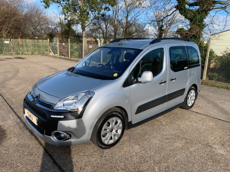 Citroen Berlingo Multispace 2013 HDI XTR wheelchair and scooter accessible vehicle WAV 1