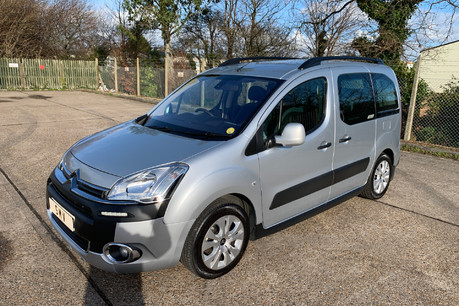 Citroen Berlingo Multispace 2013 HDI XTR wheelchair and scooter accessible vehicle WAV