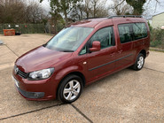 Volkswagen Caddy Maxi 2012 C20 LIFE TDI wheelchair & scooter accessible vehicle WAV 3