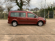 Volkswagen Caddy Maxi 2012 C20 LIFE TDI wheelchair & scooter accessible vehicle WAV 22