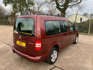 Volkswagen Caddy Maxi 2012 C20 LIFE TDI wheelchair & scooter accessible vehicle WAV 23