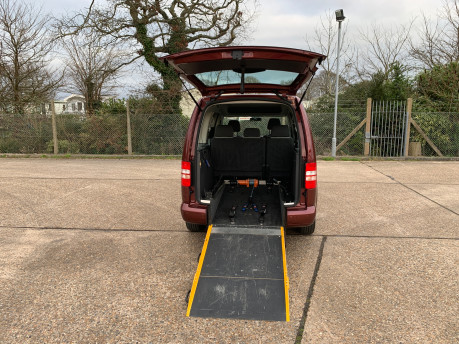 Volkswagen Caddy Maxi 2012 C20 LIFE TDI wheelchair & scooter accessible vehicle WAV 6