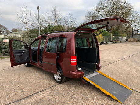 Volkswagen Caddy Maxi 2012 C20 LIFE TDI wheelchair & scooter accessible vehicle WAV 26
