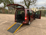Volkswagen Caddy Maxi 2012 C20 LIFE TDI wheelchair & scooter accessible vehicle WAV 24