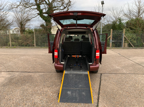 Volkswagen Caddy Maxi 2012 C20 LIFE TDI wheelchair & scooter accessible vehicle WAV 25