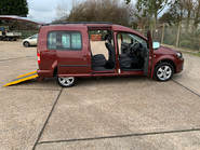 Volkswagen Caddy Maxi 2012 C20 LIFE TDI wheelchair & scooter accessible vehicle WAV 28
