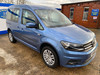 Volkswagen Caddy Life 2016 C20 LIFE TDI drive from wheelchair & scooter accessible vehicle WAV