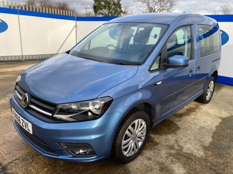 Volkswagen Caddy Life 2016 C20 LIFE TDI drive from wheelchair & scooter accessible vehicle WAV 3