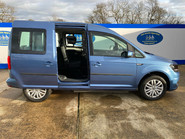 Volkswagen Caddy Life 2016 C20 LIFE TDI drive from wheelchair & scooter accessible vehicle WAV 30