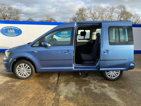Volkswagen Caddy Life 2016 C20 LIFE TDI drive from wheelchair & scooter accessible vehicle WAV 32