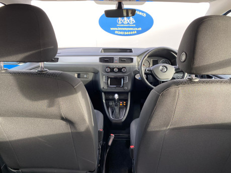 Volkswagen Caddy Life 2016 C20 LIFE TDI drive from wheelchair & scooter accessible vehicle WAV 9