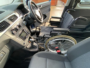 Volkswagen Caddy Life 2016 C20 LIFE TDI drive from wheelchair & scooter accessible vehicle WAV 25