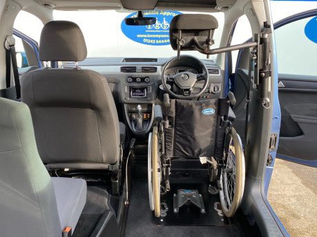 Volkswagen Caddy Life 2016 C20 LIFE TDI drive from wheelchair & scooter accessible vehicle WAV 28