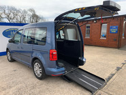 Volkswagen Caddy Life 2016 C20 LIFE TDI drive from wheelchair & scooter accessible vehicle WAV 1