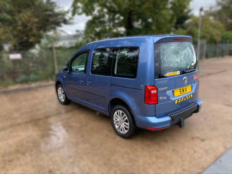 Volkswagen Caddy Life 2016 C20 LIFE TDI drive from wheelchair & scooter accessible vehicle WAV 34