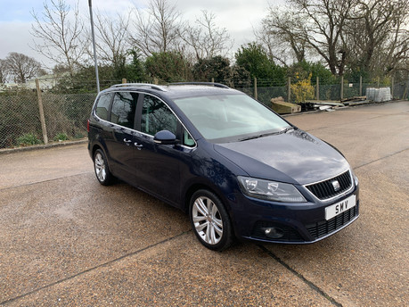 SEAT Alhambra 2014 CR TDI SE LUX DSG Wheelchair & scooter accessible vehicle
