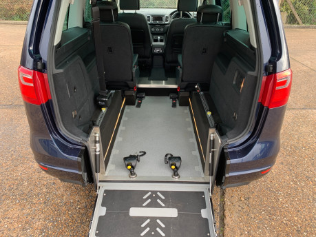 SEAT Alhambra 2014 CR TDI SE LUX DSG Wheelchair & scooter accessible vehicle 7