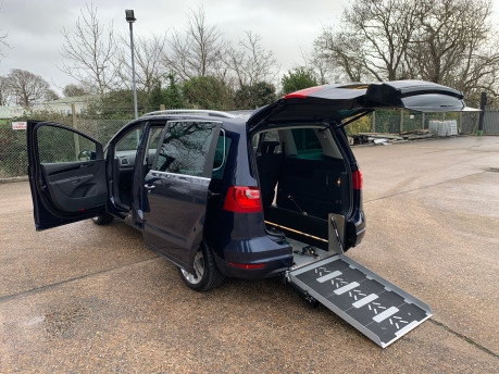 SEAT Alhambra 2014 CR TDI SE LUX DSG Wheelchair & scooter accessible vehicle 22
