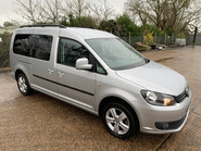 Volkswagen Caddy Maxi 2014 C20 LIFE TDI Wheelchair & scooter accessible vehicle 1